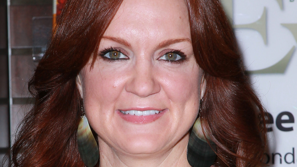 Ree Drummond with red hair