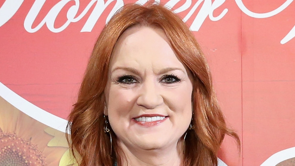 Ree Drummond smiles at Pioneer Woman event