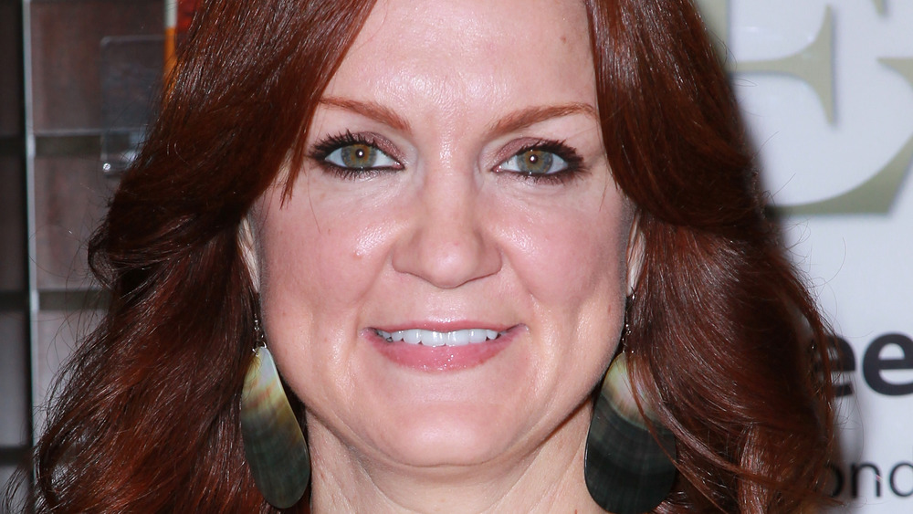 Ree Drummond with shell earrings