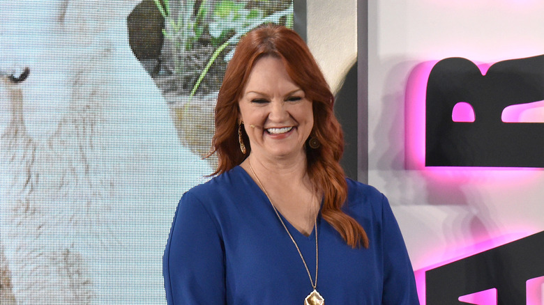 Ree Drummond smiling on stage