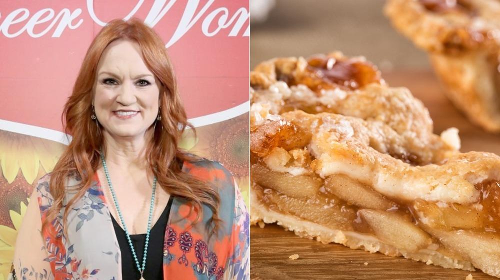 The Pioneer Woman Ree Drummond; Slice of apple pie