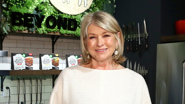 Martha Stewart promoting Beyond Meat