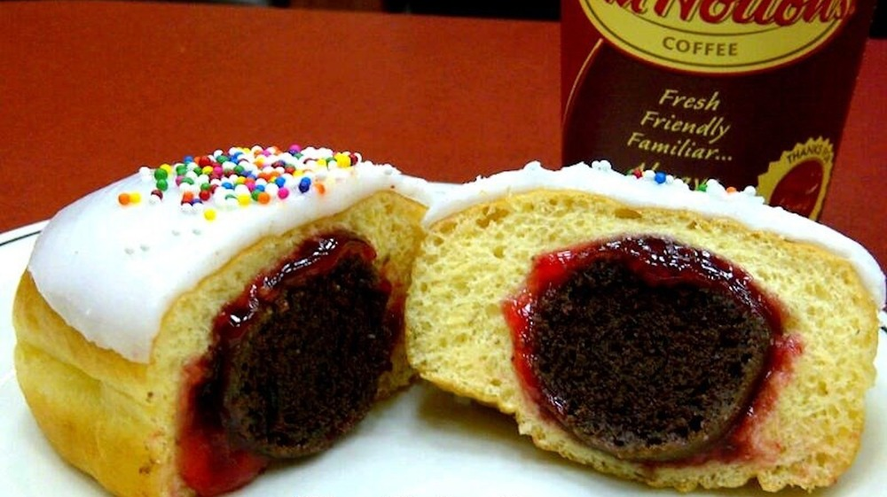 Priestley donut from Tim Hortons