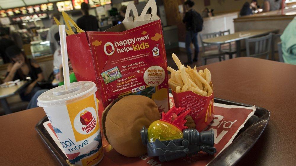A happy meal at McDonald's