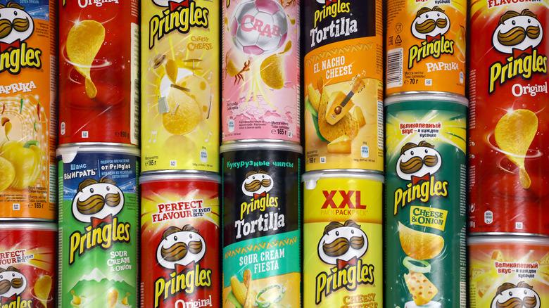 International Pringles flavors