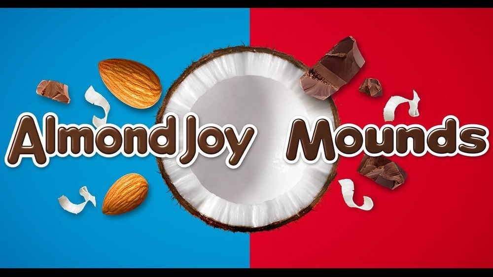 Almond Joy and Mounds logos