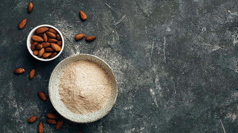 Almonds and almond flour
