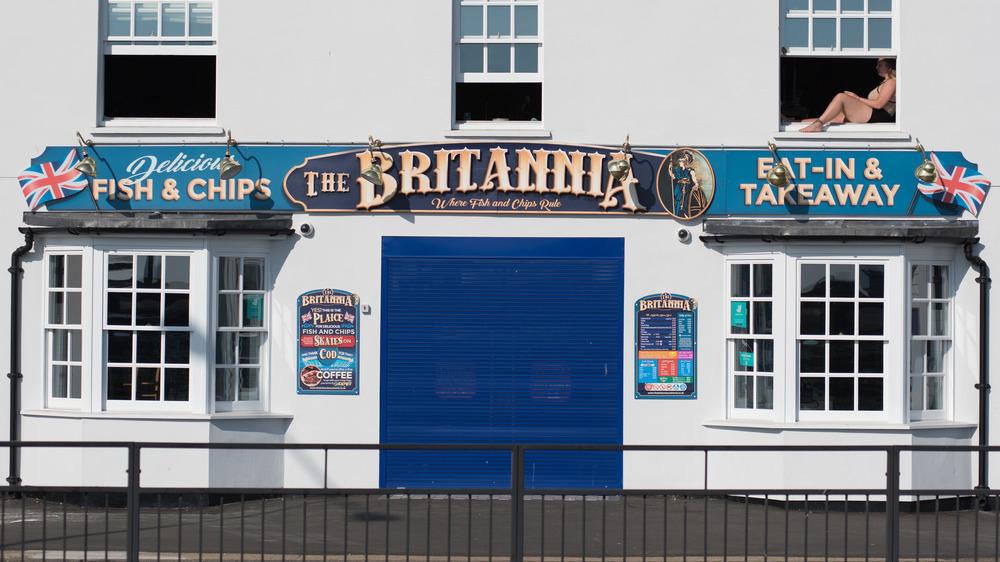 British fish and chip shop