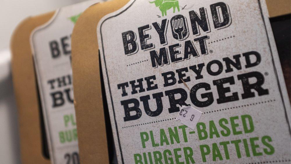 Beyond Meat packaging