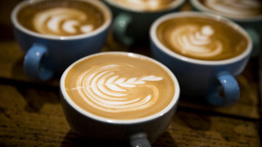 latte, foam art