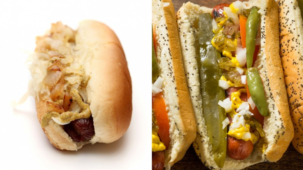 New York and Chicago Dogs