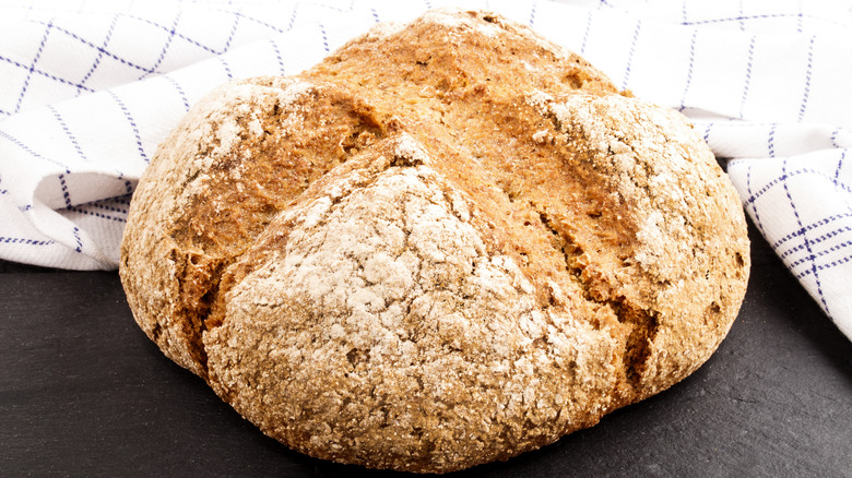 A loaf of soda bread