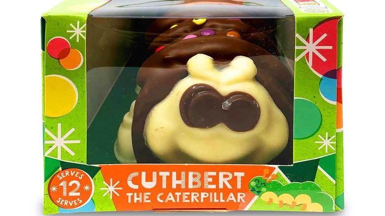 Cuthbert the Caterpillar cake from Aldi
