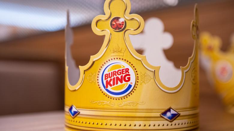 Burger King paper crown