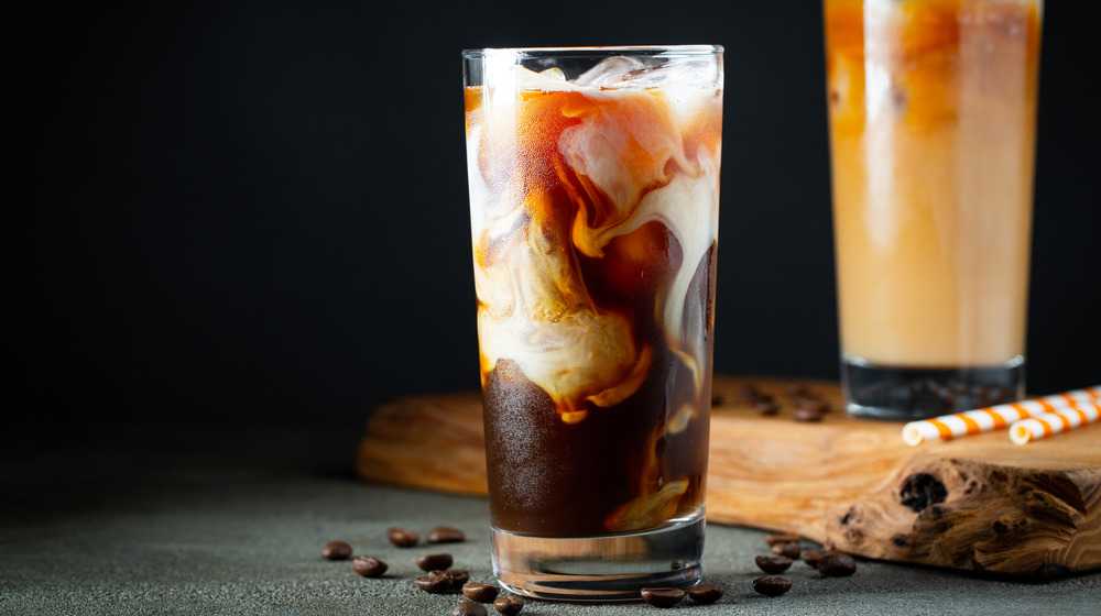 Cold brew with dairy