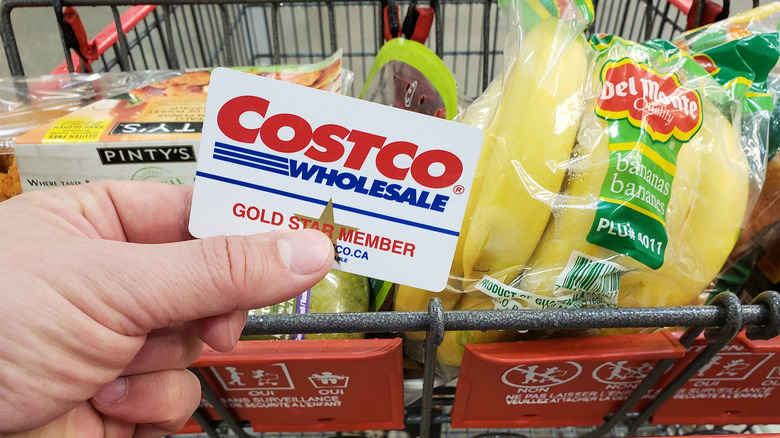 Costco shopper and card