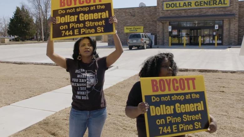 dollar store boycott Tulsa