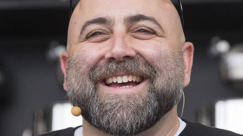 Closeup of chef Duff Goldman smiling