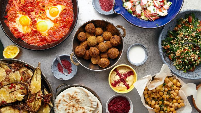 popular Israeli dishes