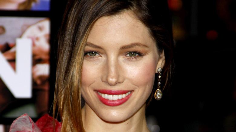 Jessica Biel close-up