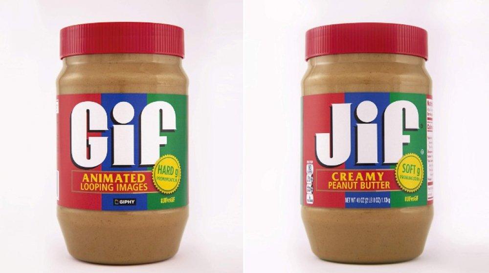 Limited edition Gif Peanut Butter Jar