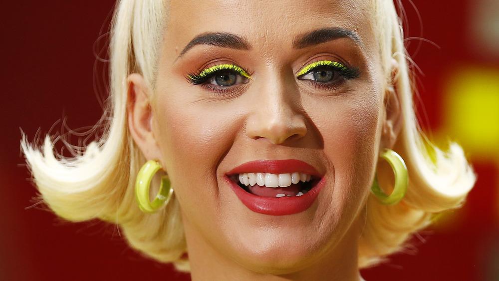 Katy Perry speaking