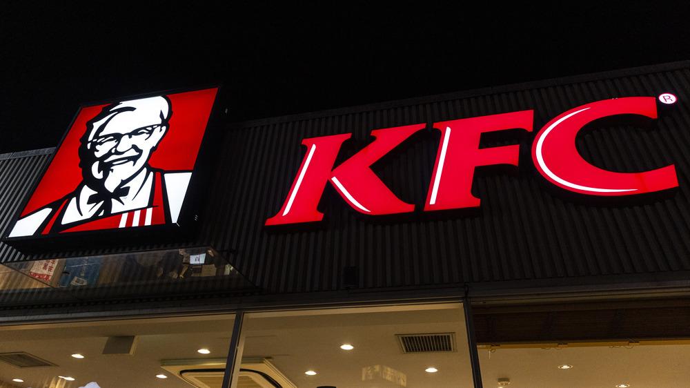 KFC restaurant from outside