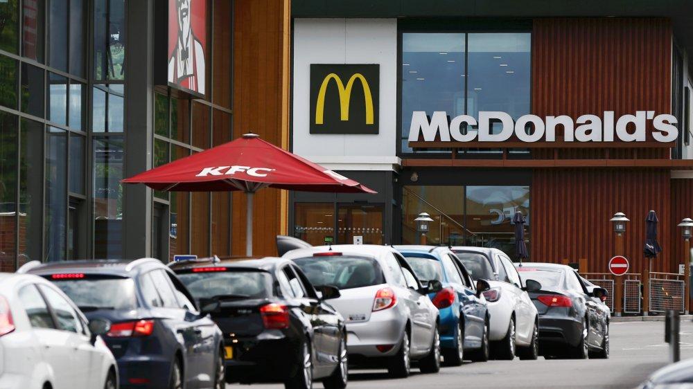 McDonald's drive thru