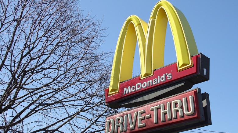 McDonald's signage