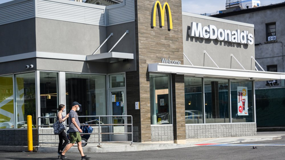 McDonald's location open for curbside pick up