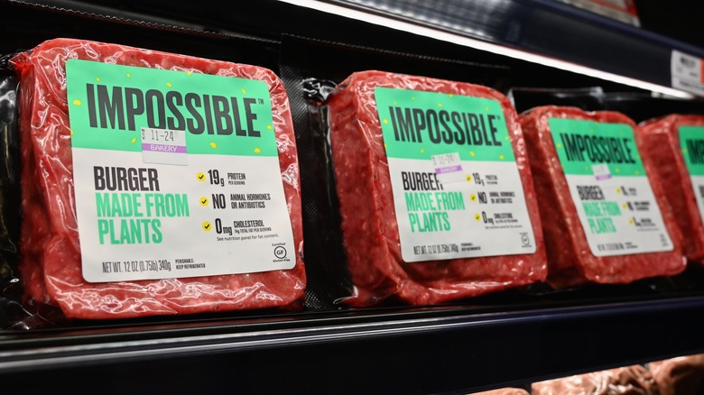 plant based meat impossible foods