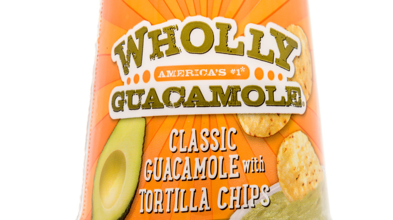 Packaged Wholly Guacamole