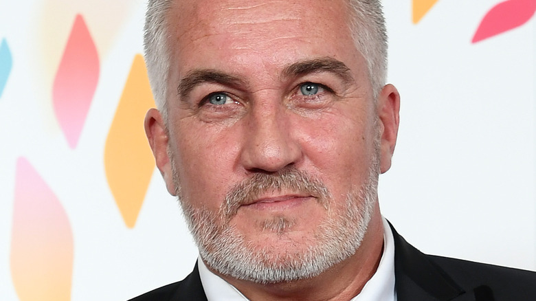 Close up of Paul Hollywood