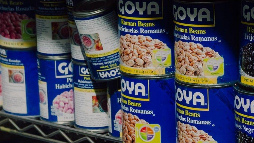 Goya canned foods
