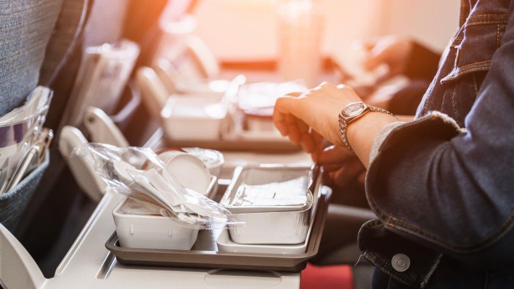 In-flight meals