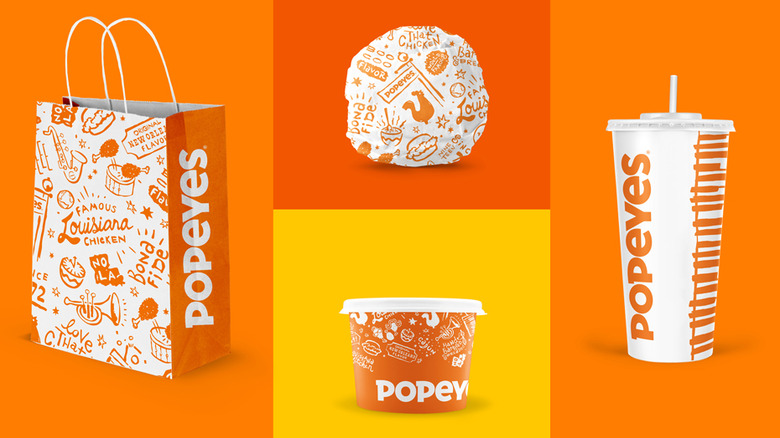 Popeyes new packaging