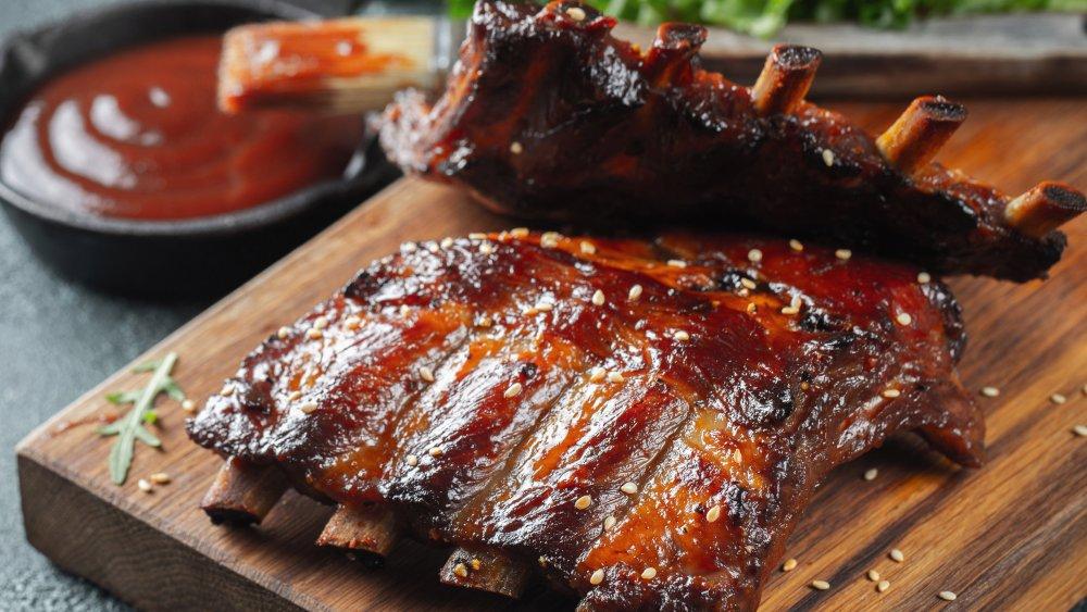 A generic shot of pork