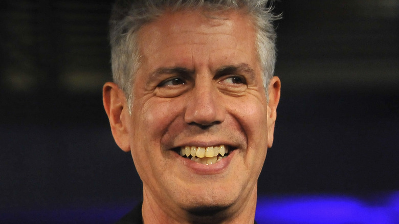Anthony Bourdain at an event