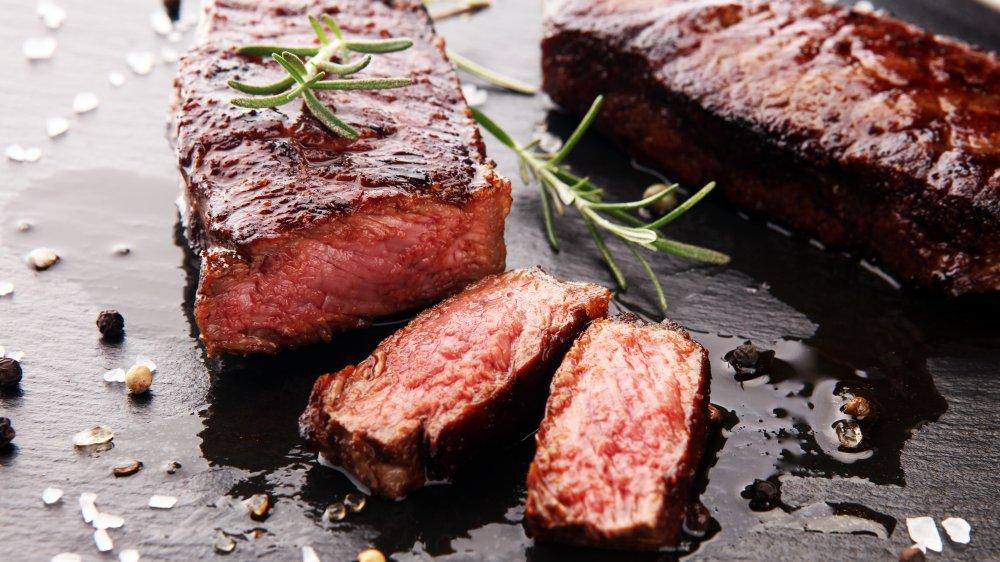 prepared steak