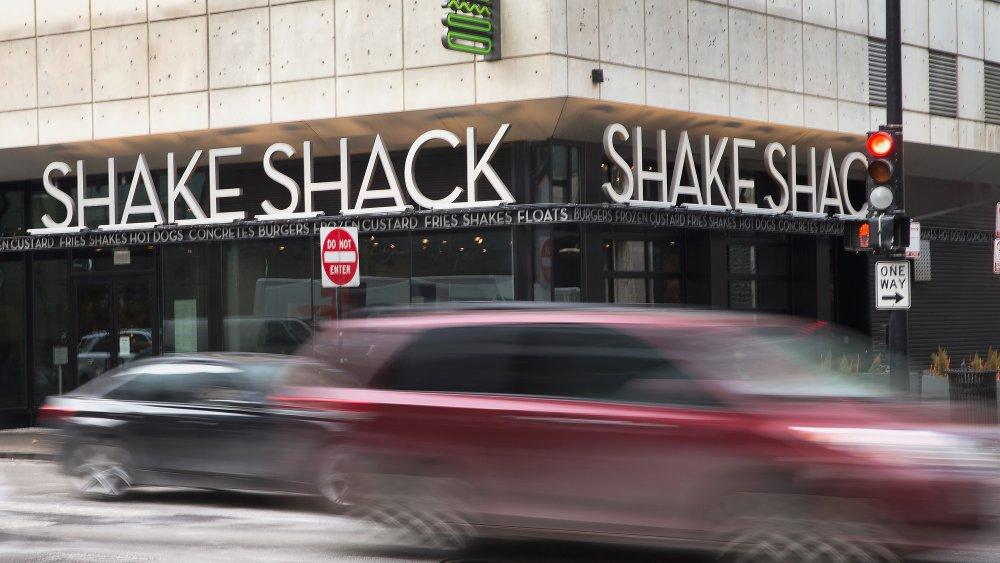 Shake Shack corner store