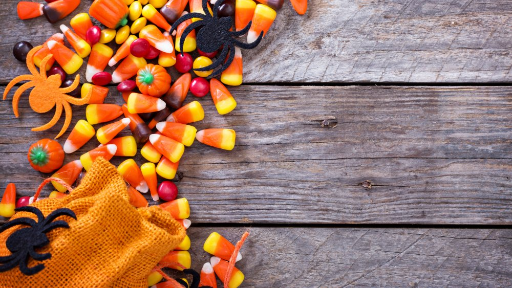 Candy corn and other Halloween goodies
