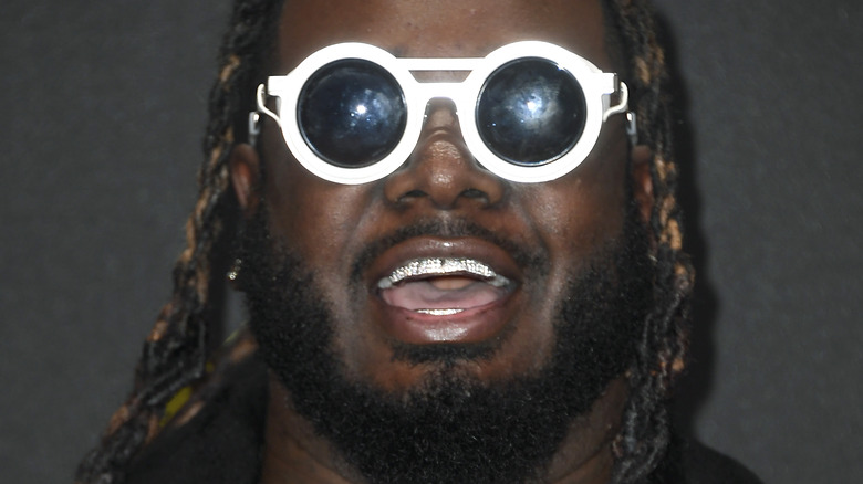 T-Pain attending awards event