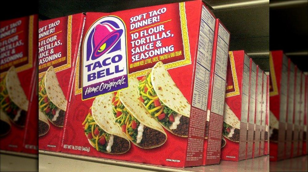 Taco Bell shells