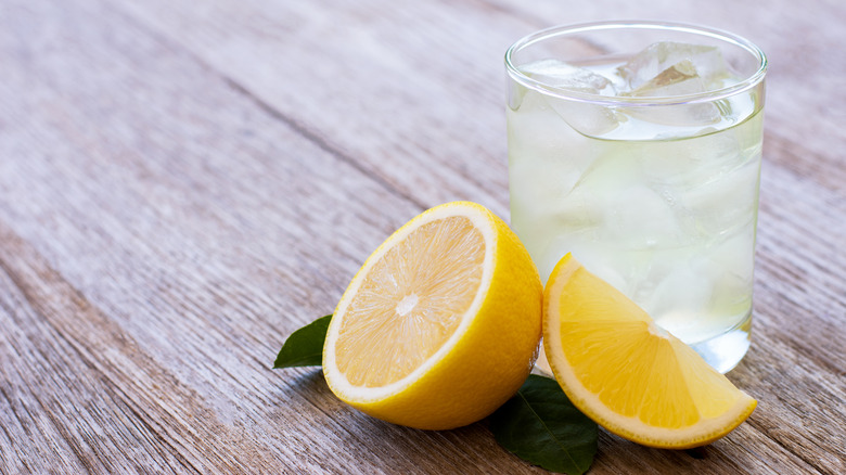 Lemons and water
