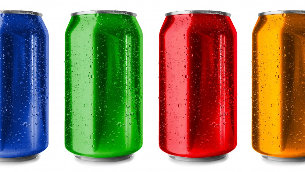 colors of soda cans