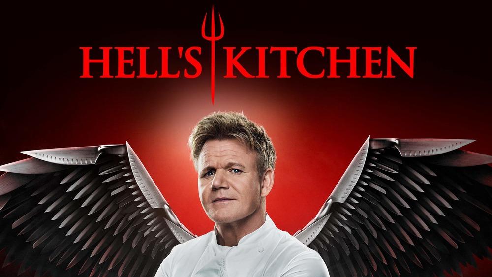 Gordon Ramsay hosts Hell's Kitchen ad