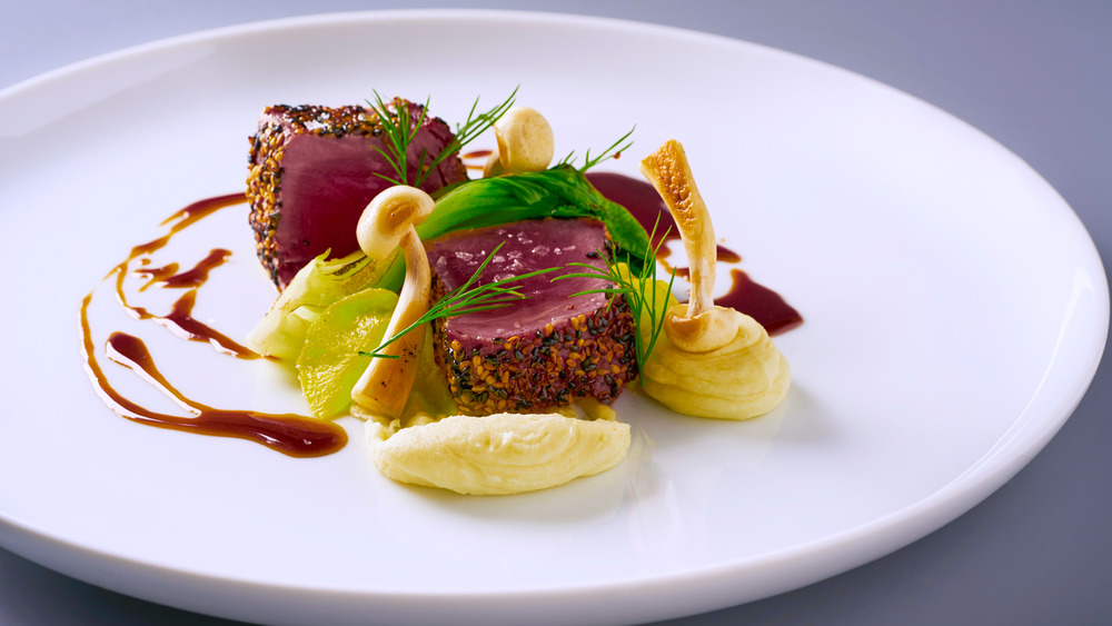 Michelin star-worthy meal