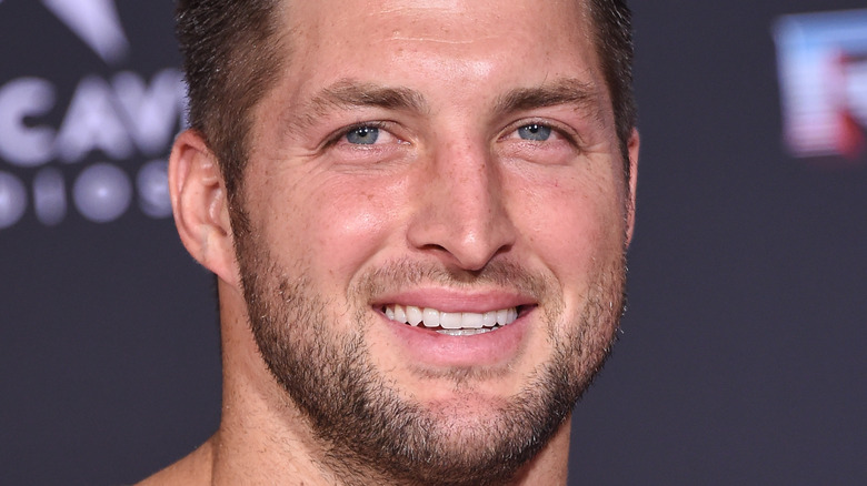 Tim Tebow close-up