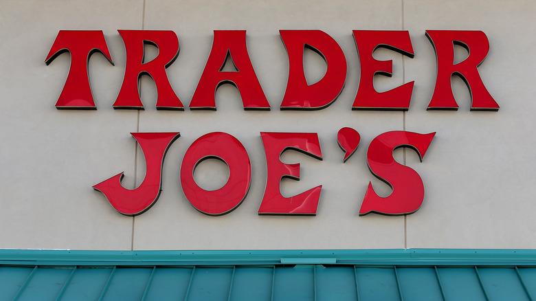 Trader Joe's sign outside