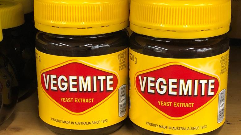jars of vegemite